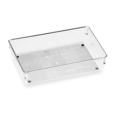 InterDesign® Linus Acrylic 6-Inch x 9-Inch Drawer Organizer