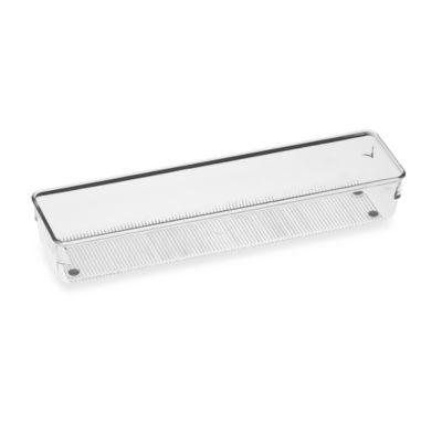 InterDesign® Linus Acrylic 3-Inch x 12-Inch Drawer Organizer