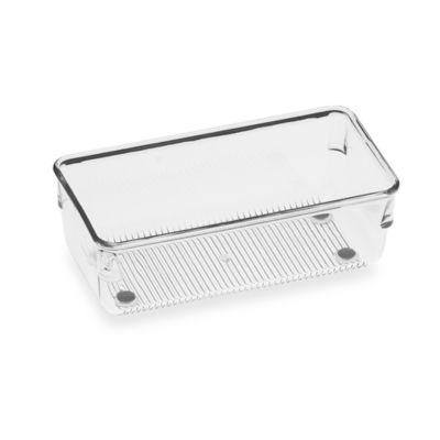 InterDesign® Linus Acrylic 3-Inch x 6-Inch Drawer Organizer
