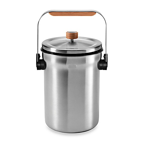 Stainless Steel Compost Pail Bed Bath And Beyond