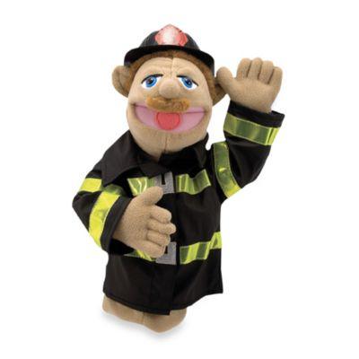 Melissa & Doug® Fire Fighter Puppet