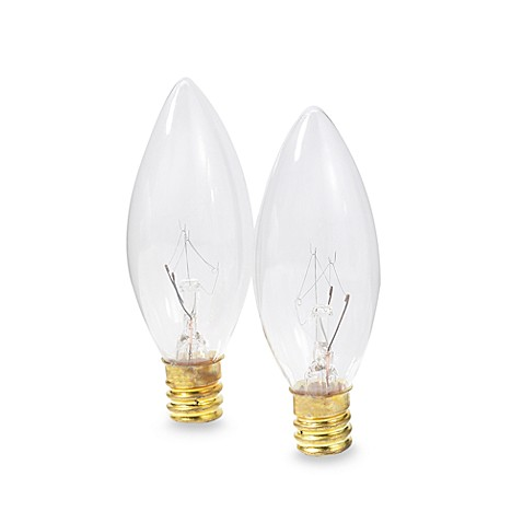Replacement Bulbs for Electric Candle Lamp (Set of 2)