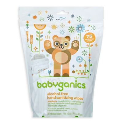 BabyGanics® The Germinator™ 75-Count Hand Sanitizing Wipes