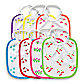 green sprouts™ by i play.® 7-Pack Bibs for Girls