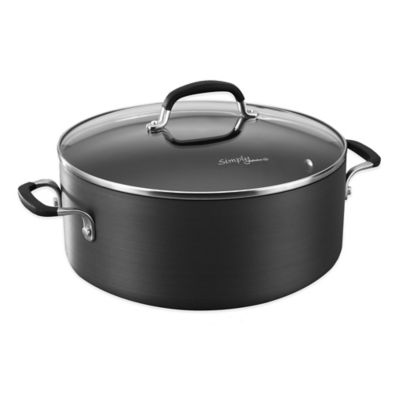 Hard-Anodized Dutch Oven