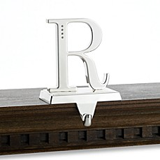 Monogram Stocking Hanger With Crystallized™ Swarovski Elements, Letter R
