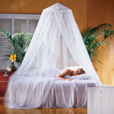 Sheer Canopy Bed Hangings