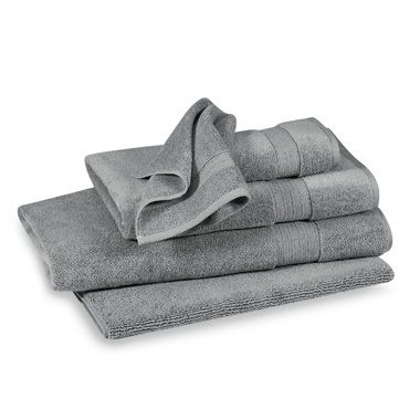 Finest Washcloth in Grey