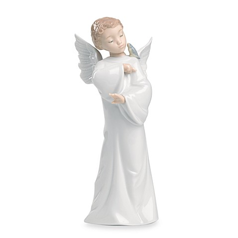 Nao® Guardian Angel Porcelain Figurine