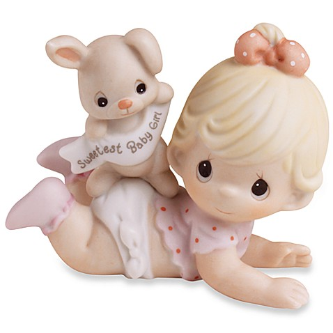 Buy Precious Moments 174 Sweetest Baby Girl Porcelain