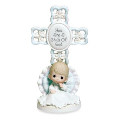 Precious Moments® You Are a Child of God Boy Cross Figurine