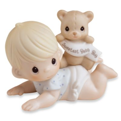Precious Moments® Sweetest Baby Boy Porcelain Figurine