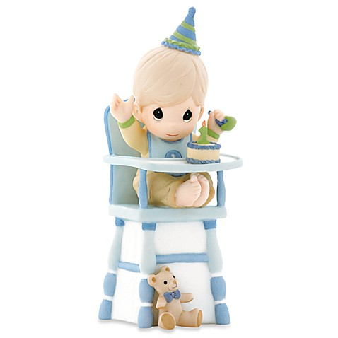 Precious Moments® Hip, Hip,Hooray You're One Year Old Today! Porcelain Boy Figurine