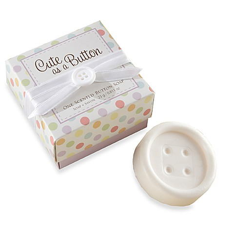 Kate Aspen® Cute as a Button Baby Shower Favor