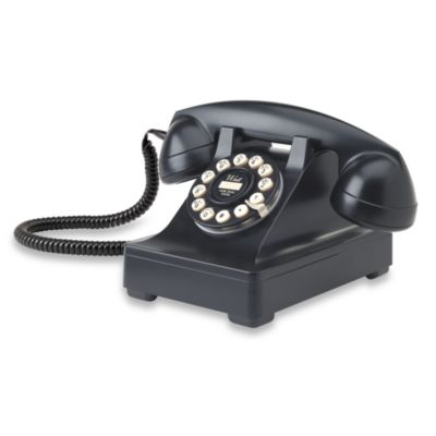 Crosley 302 Desk Phone - Black