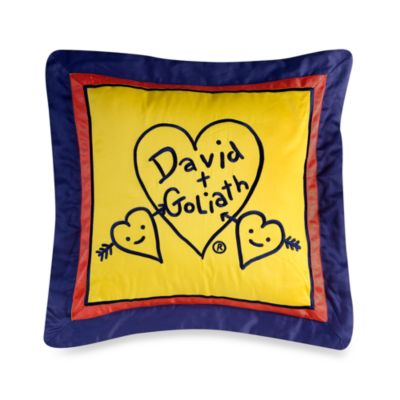 David and Goliath™ Monsters 18-Inch Square Toss Pillow