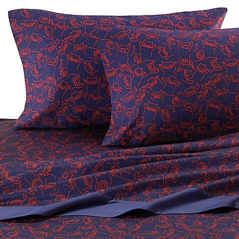 Monsters Sheet Set by David and Goliath®, 100% Cotton Sateen, 300 Thread Count