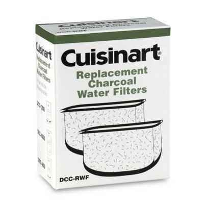 Cuisinart Coffee Maker Charcoal Filter : Cuisinart Replacement Charcoal Water Filters (Set of 2) - www.BedBathandBeyond.com