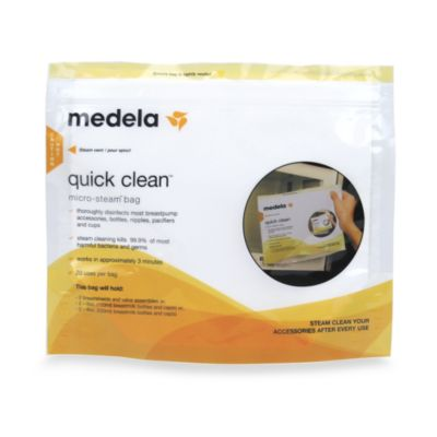 Medela® Quick Clean™ 5-Count Micro-Steam™ Bags