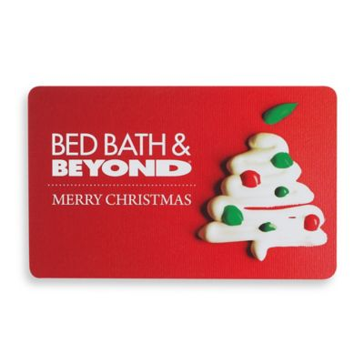 """MERRY CHRISTMAS"" Candy Tree Gift Card $50"