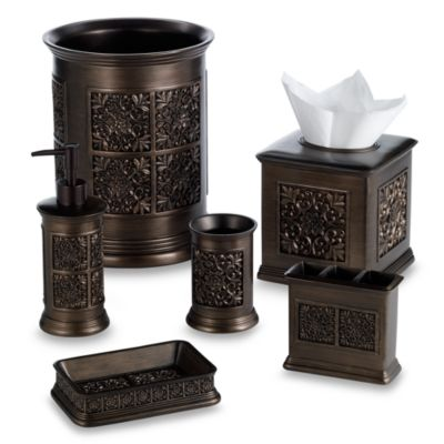 Imperial Tuscan Gold Boutique Tissue Holder
