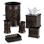 India Ink Imperial Boutique Tissue Holder in Tuscan Gold