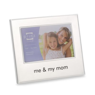 Me and My Mom 4-Inch x 6-Inch Metal Frame