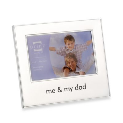 Me and My Dad 4-Inch x 6-Inch Metal Frame