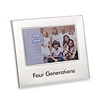 Four Generations 4-Inch x 6-Inch Metal Frame