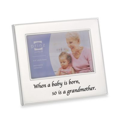 So Is a Grandmother 4-Inch x 6-Inch Metal Frame
