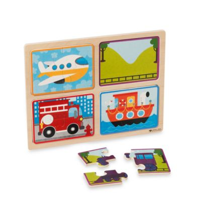 green start® Ready Set Go Wooden Puzzle