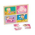 green start® Little Princess Wooden Puzzle