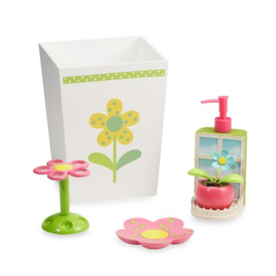 Dancing Flowers Toothbrush Holder