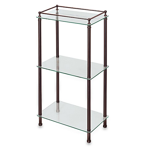 Buy Gatco Taboret Bronze And Glass Shelf Tower From Bed