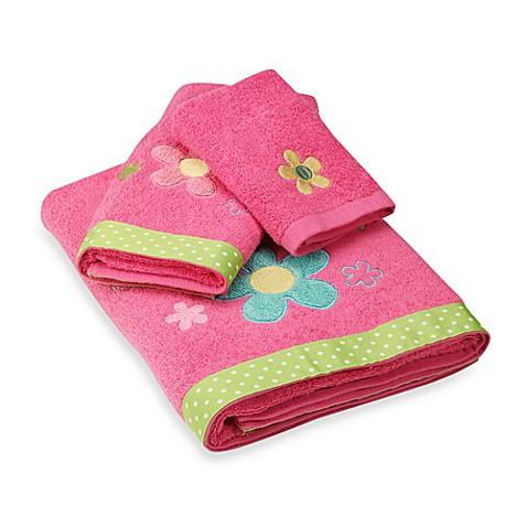 Dancing Flowers Bath Towels 100 Cotton Bed Bath Beyond