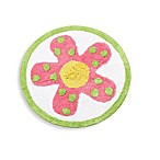 Dancing Flowers Bath Rug