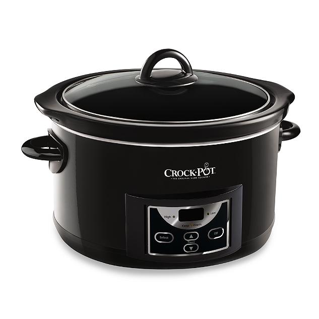 Crock-Pot® Premier Edition 5-Quart Slow Cooker, BED BATH & BEYOND