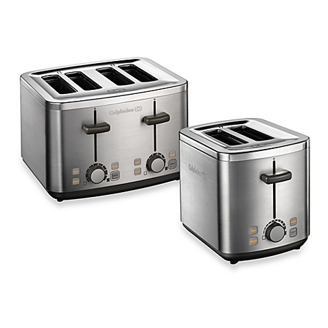 Calphalon Brushed Stainless Steel Toaster Bed Bath Beyond