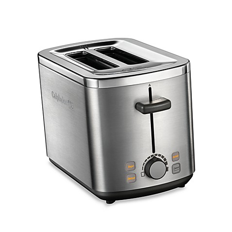 Calphalon Brushed Stainless Steel 2 Slice Toaster Bed