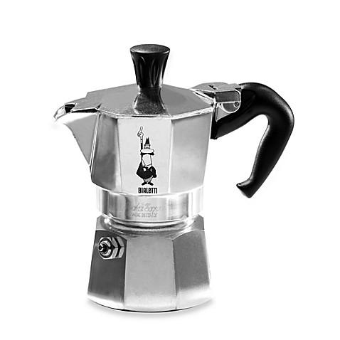 bialetti moka express 1 cup espresso machine bed bath. Black Bedroom Furniture Sets. Home Design Ideas