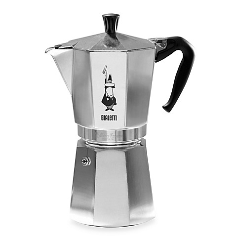 bialetti moka express 12 cup espresso machine www. Black Bedroom Furniture Sets. Home Design Ideas