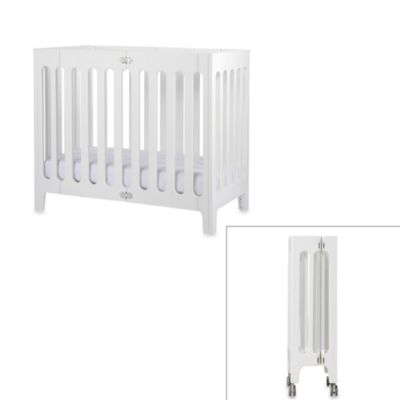 bloom® baby alma™ Urban Folding Cot/Mini Crib in Coconut White