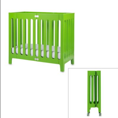 bloom® baby alma™ Urban Folding Cot/Mini Crib in Gala Green