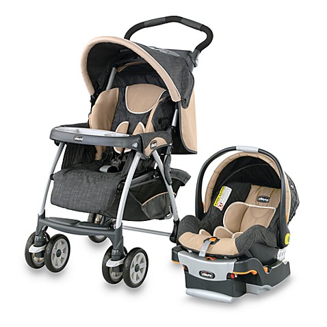 chicco cortina key fit travel system hazelwood stroller infant car seat bed bath beyond. Black Bedroom Furniture Sets. Home Design Ideas