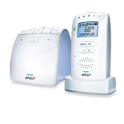 philips avent dect baby monitor with temperature sensor bed bath beyond. Black Bedroom Furniture Sets. Home Design Ideas