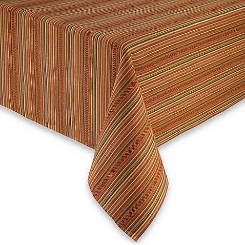 Autumn Stripe Tablecloth