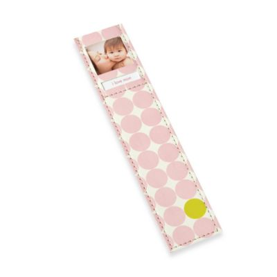 Pearhead™ Dots Photo Bookmark in Pink