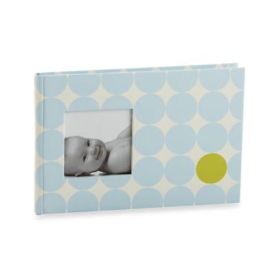 Pearhead™ Dots Brag Book in Blue