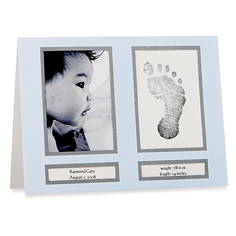 Pearhead™ Classic Birth Announcements in Blue