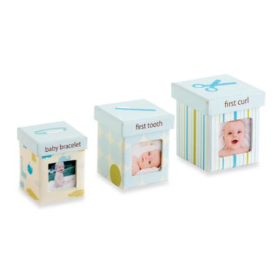 Pearhead™ Little Keepsakes Set in Blue